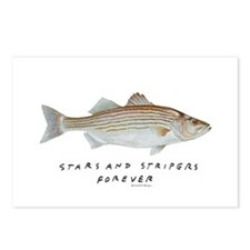 Stars and Stripers Forever Postcards (Package of 8