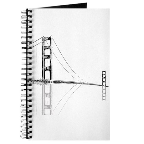 Golden Gate Faded Journal