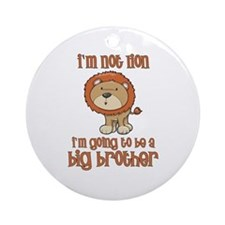 big brother t-shirts lion Ornament (Round)