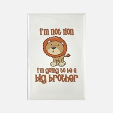 big brother t-shirts lion Rectangle Magnet