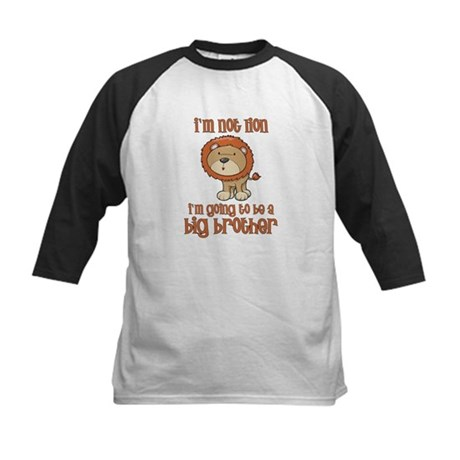 big brother t-shirts lion Kids Baseball Jersey