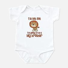 big brother t-shirts lion Infant Bodysuit