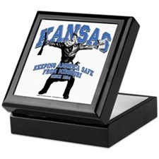 Kansas - Keeping America Safe... Keepsake Box