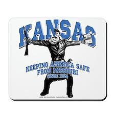 Kansas - Keeping America Safe... Mousepad