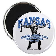 Kansas - Keeping America Safe... Magnet