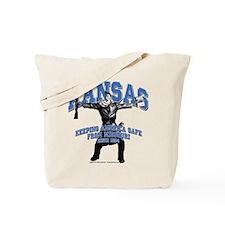Kansas - Keeping America Safe... Tote Bag