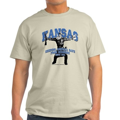 Kansas - Keeping America Safe... Light T-Shirt