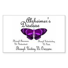 Butterfly Awareness 1 (Alzheimers) Decal