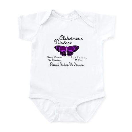 Butterfly Awareness 1 (Alzheimers) Infant Bodysuit