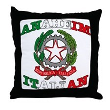 Anaheim Italian Throw Pillow