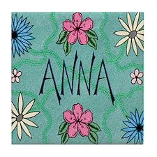 Anna Tile Coaster
