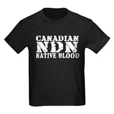 Canadian Indian Native Blood T