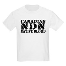 Canadian Indian Native Blood T-Shirt
