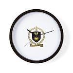 AMIREAU Family Crest Wall Clock