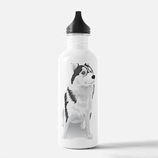 i love animals Water Bottle