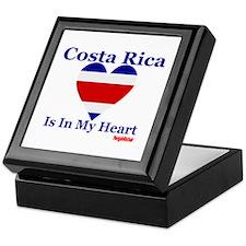 Costa Rica - Heart Keepsake Box