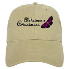 Butterfly Awareness 2 (Alzheimers) Baseball Cap