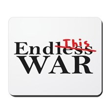 End This War Mousepad