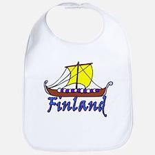 Viking Boat -1- Finland Bib