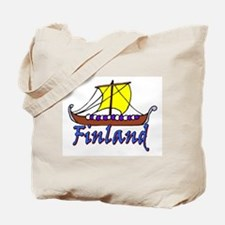 Viking Boat -1- Finland Tote Bag