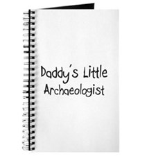 Daddy's Little Archaeologist Journal