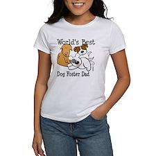 World's Best Dog Foster Dad Tee