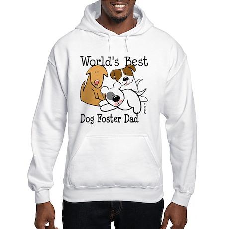 World's Best Dog Foster Dad Hooded Sweatshirt
