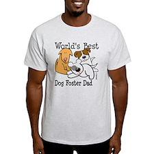 World's Best Dog Foster Dad T-Shirt