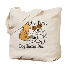 World's Best Dog Foster Dad Tote Bag