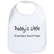 Daddy's Little Archaeological Museum Keeper Bib