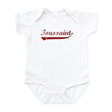 Toussaint (red vintage) Infant Bodysuit