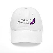 Butterfly Awareness 3 (Alzheimers) Baseball Cap