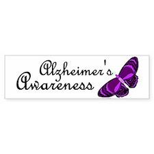 Butterfly Awareness 3 (Alzheimers) Bumper Sticker