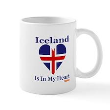 Iceland - Heart Mug