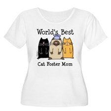 World's Best Cat Foster Mom T-Shirt