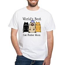 World's Best Cat Foster Mom Shirt