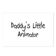 Daddy's Little Animator Postcards (Package of 8)