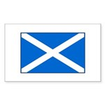 Scottish Flag Rectangle Sticker