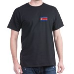 North Korean Flag Dark T-Shirt