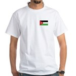 Jordan Flag White T-Shirt