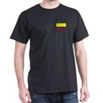 Colombian Flag Dark T-Shirt