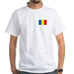 Chadian Flag White T-Shirt