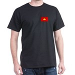 Cambodian Flag Dark T-Shirt