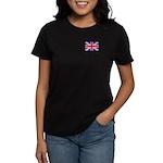British Flag Women's Dark T-Shirt