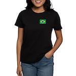 Brazilian Flag Women's Dark T-Shirt