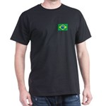Brazilian Flag Dark T-Shirt