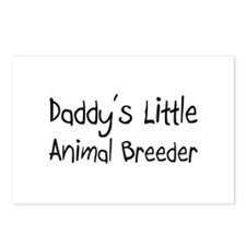 Daddy's Little Animal Breeder Postcards (Package o