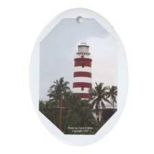 Oval Ornament_Lighthouse