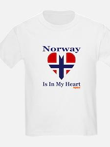 Norway - Heart T-Shirt
