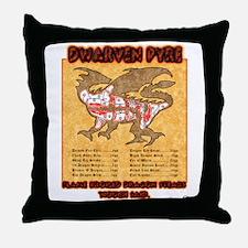 Dwarven Pyre Throw Pillow